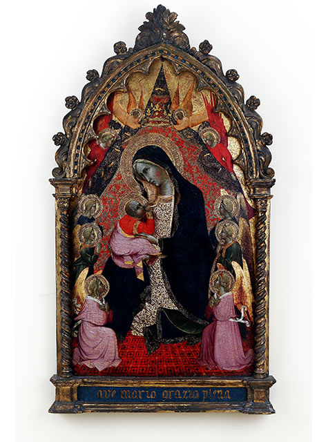 Madonna of Humility with Angels